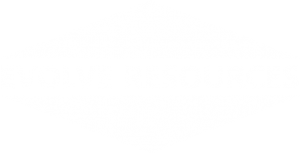 Evolve Resources LLC White Logo